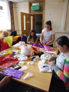 Recycled Art Workshops (7)